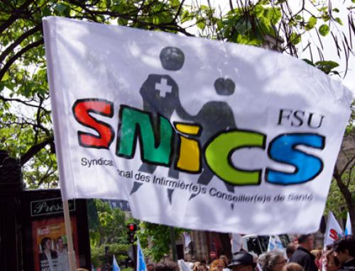 COVID 19 : quel matériel de protection pour les infirmièr-es scolaires ? Le SNICS-FSU et le SNIES-UNSA interpellent le recteur.
