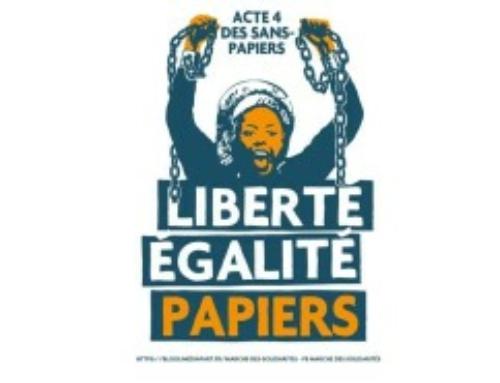 Liberté, égalité, papiers ! Rassemblement le 18/12 place Massena