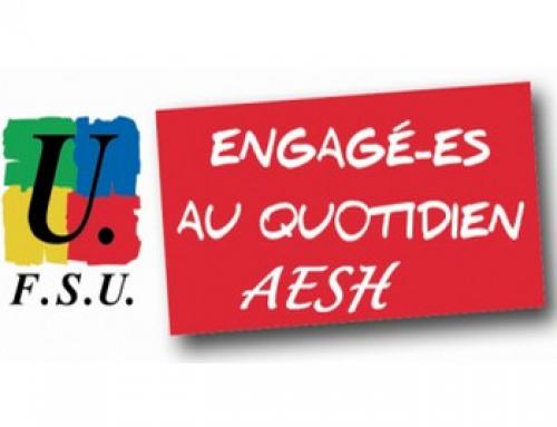 Grève nationale AESH le 19 octobre
