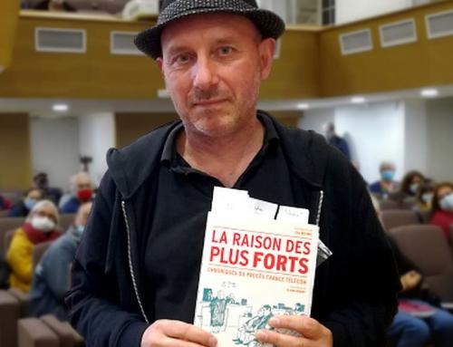 Présentation du livre La Raison des plus forts par E. Beynel : chroniques du procès de France Telecom